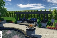 09-26-2017 pool and back yard design concept with rooftop mini golf and putting greens in deal nj - 13