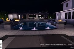 09-26-2017 pool and back yard design concept with rooftop mini golf and putting greens in deal nj - 15