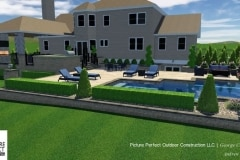 09-27-2017 pool design concept with outdoor lighting and landscaping design concept in tinton falls nj- 1