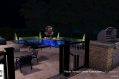 09-27-2017 pool design concept with outdoor lighting and landscaping design concept in tinton falls nj- 6