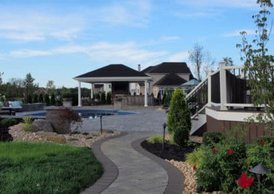 Back Yard Remodel: Patio, Pavilion, Outdoor Kitchen & Fire Features – The Ridings at Cream Ridge