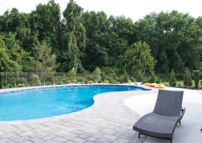 Poolscape & Privacy Hedge – Manalapan, NJ