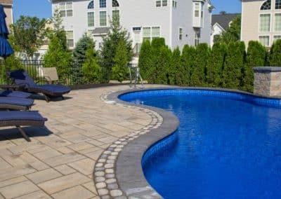 Patio, Spillways, and Pool Coping – Manalapan, NJ